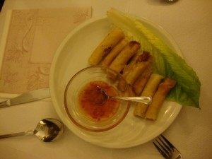 Food @ the Filipinian Restaurant