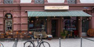 Lovely grandmotherly café: Café Maingold (29. October 2016)