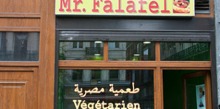 12. May 2012: Restaurant Mr. Falafel