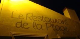 13. August 2010: Restaurant de la Plage