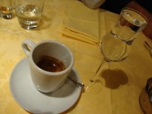 Grappa & Espresso @Alfredo's Gallery
